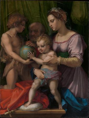 The Holy Family with the Young Saint John the Baptist, 1528-9