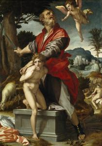 The Sacrifice of Isaac by Andrea del Sarto
