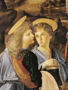 Baptism of Christ, 1475-1478 by Andrea del Verrocchio