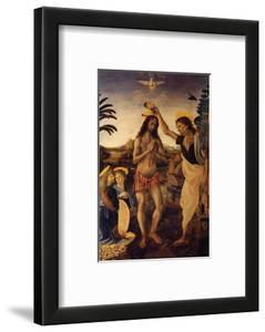Baptism of Christ by Andrea del Verrocchio