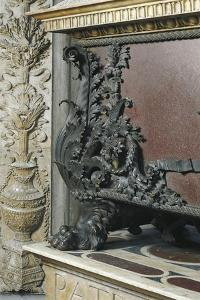 Decorative Detail of Piero and Giovanni De Medici's Tomb by Andrea del Verrocchio