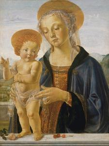Madonna and Child, c.1470 by Andrea del Verrocchio