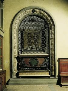 Piero and Giovanni De Medici's Tomb by Andrea del Verrocchio