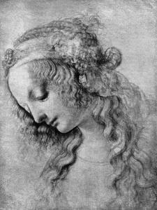 The Head of the Madonna, 15th Centuy by Andrea del Verrocchio