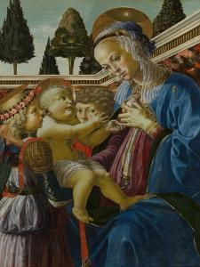 The Virgin and Child with Two Angels, C. 1467-1469 by Andrea del Verrocchio