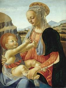 The Virgin and Child by Andrea del Verrocchio