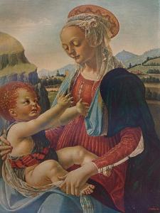 Virgin and Child, c1470, (1911) by Andrea del Verrocchio