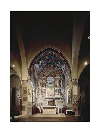 View of Choir Frescoed