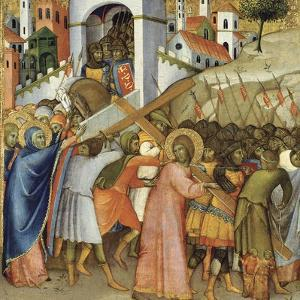Christ on the Road to Calvary by Andrea di Bartolo