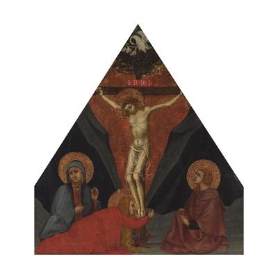 The Crucifixion with the Virgin, Mary Magdalene and St. John the Evangelist, Ca 1400
