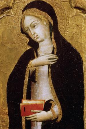 Virgin Annunciate, C1410