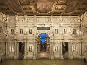 Teatro Olimpico (Olympic Theatre) by Andrea di Pietro (Palladio)