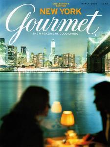 Gourmet Cover - March 2004 by Andrea Fazzari