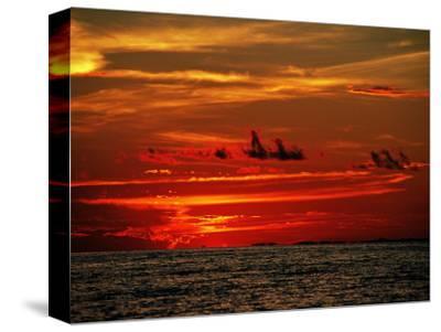 Tropical Sunset over the Sabah Coastline