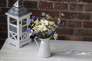 Bouquet, Summer Flowers, Lantern by Andrea Haase