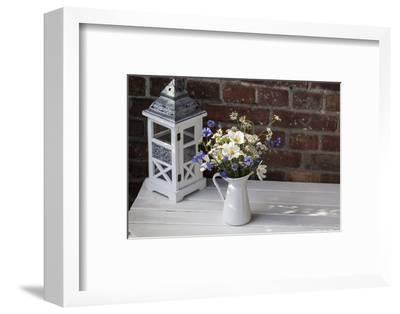 Bouquet, Summer Flowers, Lantern
