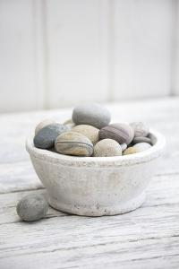 Bowl with Pebble Stone by Andrea Haase