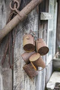Bundle of Old Rusty Tins by Andrea Haase