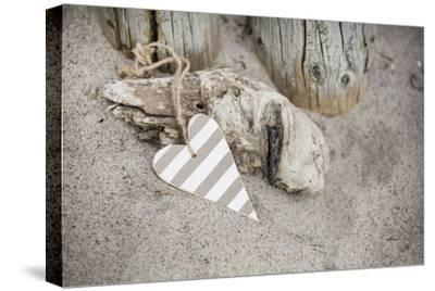 Heart, Tag, Wood, Beach, Symbol, Love