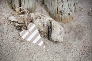 Heart, Tag, Wood, Beach, Symbol, Love by Andrea Haase
