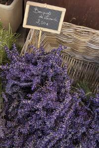 Lavender bunches to sales, Provence by Andrea Haase