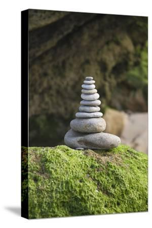 Stone Tower, Pebbles, Moss