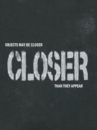 Objects May Be Closer I
