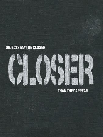 Objects May Be Closer I