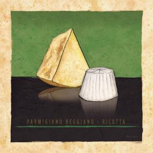Cheeses I by Andrea Laliberte
