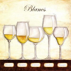 Les Vins Blancs by Andrea Laliberte