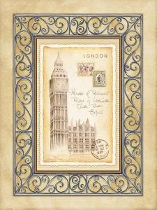 London Postcard by Andrea Laliberte