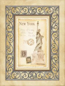 New York Postcard by Andrea Laliberte