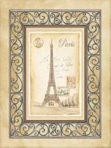 Paris Postcard by Andrea Laliberte