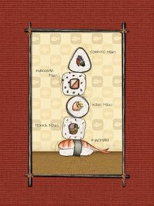 Sushi I by Andrea Laliberte