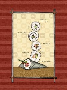 Sushi II by Andrea Laliberte