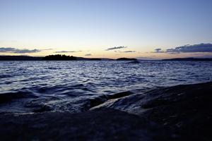 Dusk, Stora Le Lake, Sweden by Andrea Lang