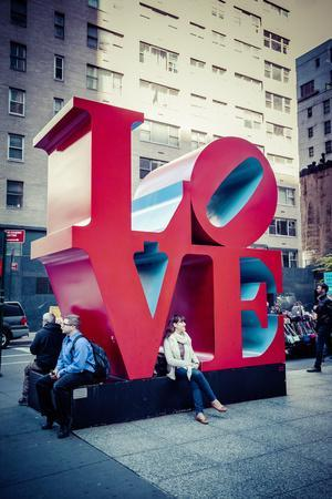 Love Sculpture, Mid-Manhattan, Manhattan, New York, USA