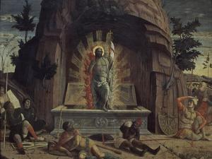 La Résurrection by Andrea Mantegna