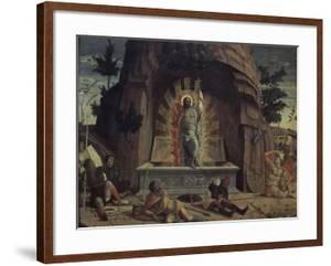La Résurrection by Andrea Mantegna