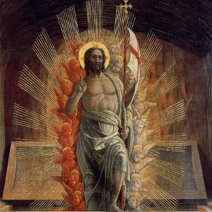 Resurrection by Andrea Mantegna