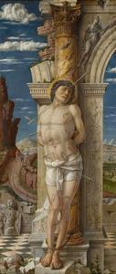 Saint Sebastian, Ca 1459 by Andrea Mantegna