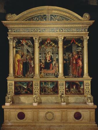 San Zeno Altarpiece, Ca 1456-1460