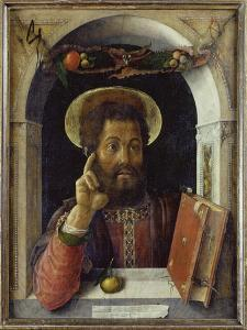 St. Mark the Evangelist, about 1450 by Andrea Mantegna