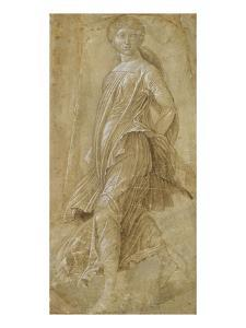Tanzende Muse by Andrea Mantegna
