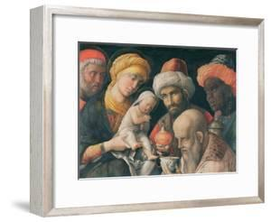 The Adoration of the Magi, C. 1500 by Andrea Mantegna