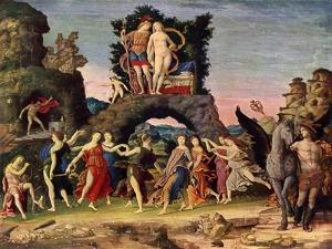 The Parnassus: Mars and Venus, 1497 by Andrea Mantegna