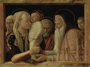 The Presentation in the Temple, about 1465/66 by Andrea Mantegna