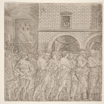 The Senators, from 'The Triumph of Julius Caesar, C.1495