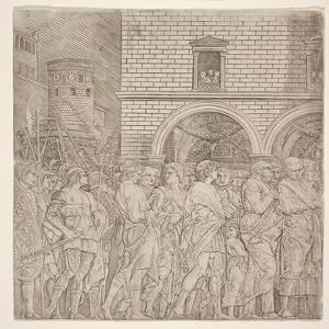 The Senators, from 'The Triumph of Julius Caesar, C.1495 by Andrea Mantegna