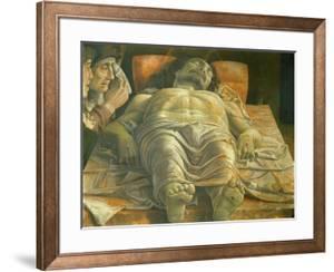 Lamentation of Christ, Ca. 1480 by Andrea Mategna